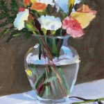 After Manet - oil on canvas board - SOLD