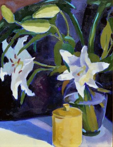 Grand Lillies - Private Collection