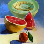 Farm to Table oil painting by jori owens